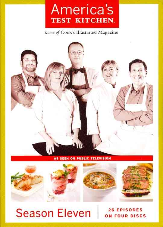 AMERICA'S TEST KITCHEN SEASON 11 BY AMERICA'S TEST KITCH (DVD)
